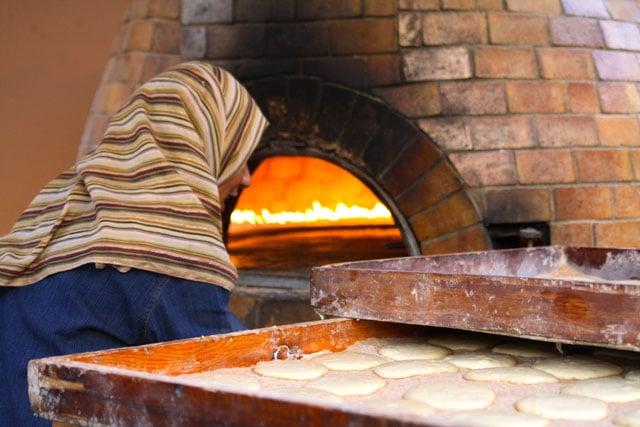 Египетские лепешки айш балади - мастер-класс - фото