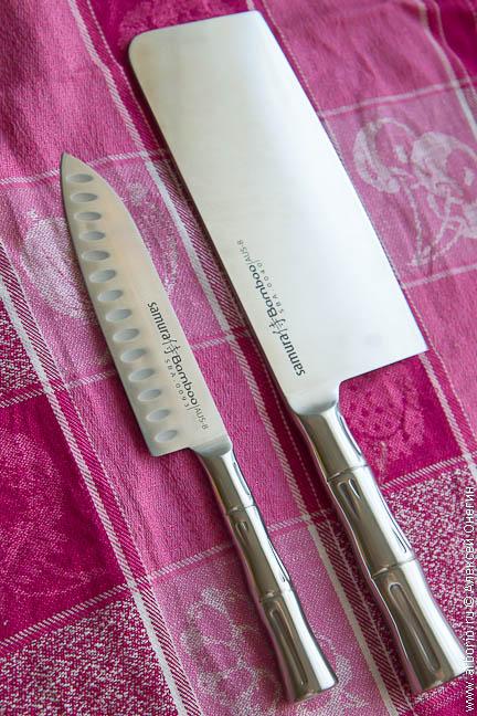 Ножи Samura Bamboo - фото