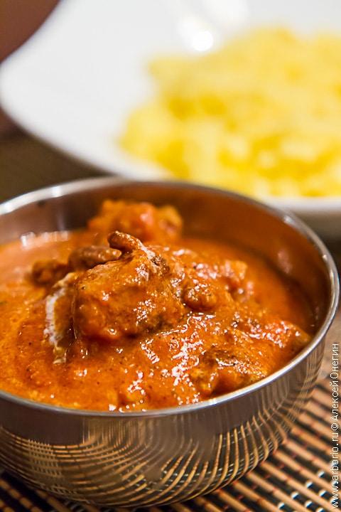 Рецепты блюд карри