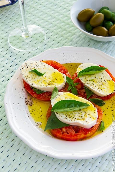 """Идеальный салат """"Капрезе"""" - фото"""