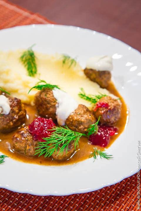 Шведские фрикадельки рецепт с фото