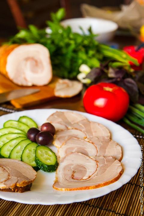 Ветчина для бутербродов в домашних условиях рецепт с фото