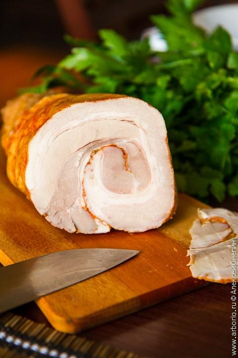 Пошаговый рецепт приготовления ветчины в домашних условиях