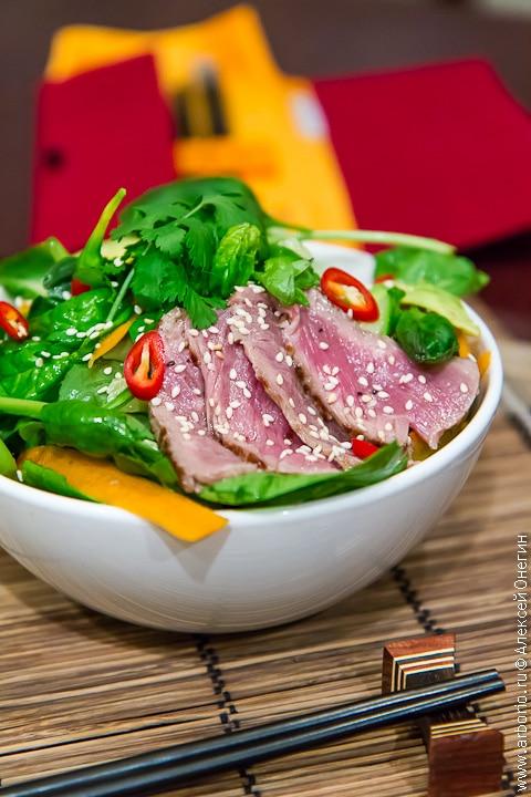 Тайский салат с говядиной рецепт с фото