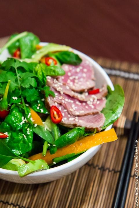 Тайский мясной салат рецепт с фото