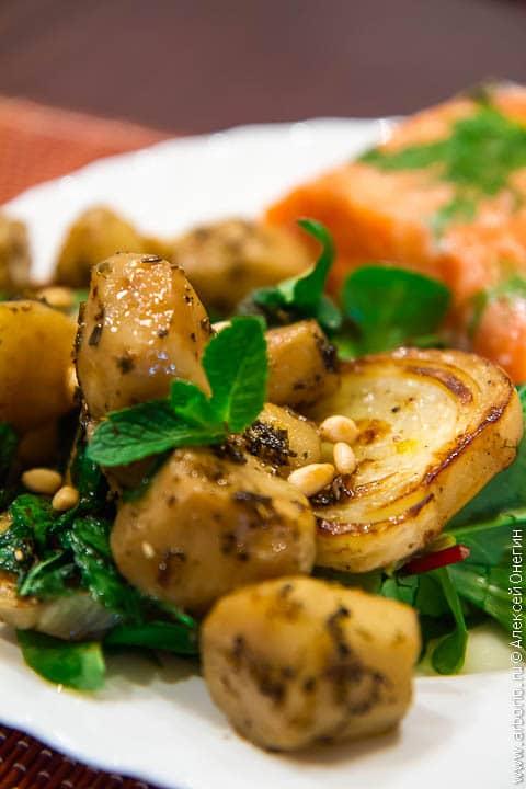 Приготовление овощей методом су-вид - фото