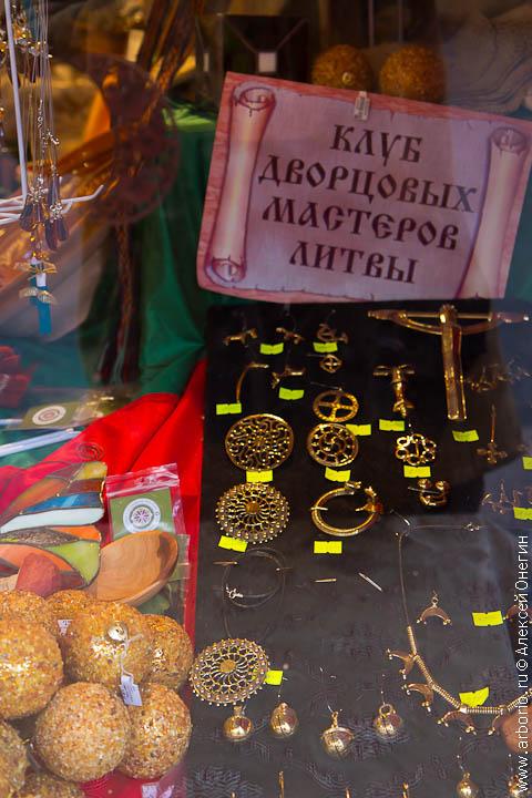 Рождественская ярмарка на площади Островского - фото