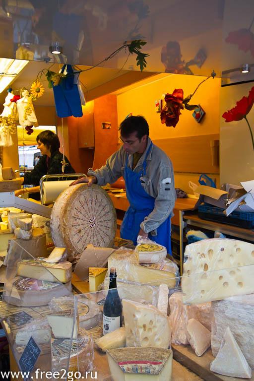 Субботний рынок в Антверпене - фото