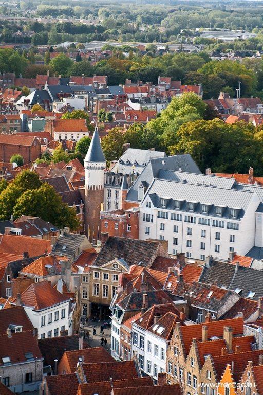 Беффруа - Брюгге, Бельгия. фото