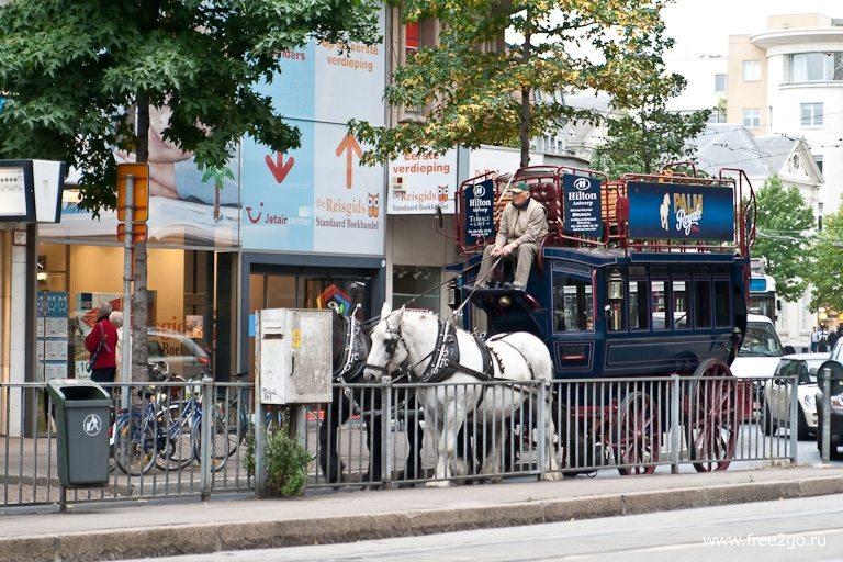Прогулка по улицам - Антверпен, Бельгия. фото