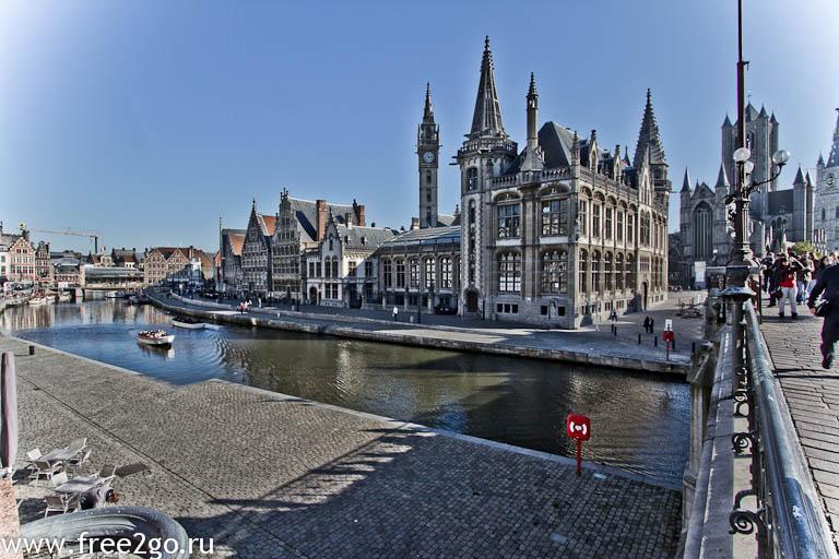 Фландрия и Валлония - Гент, Бельгия. фото
