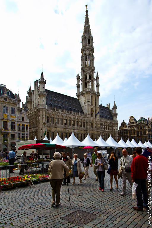 Брюссель, город контрастов - Бельгия. фото