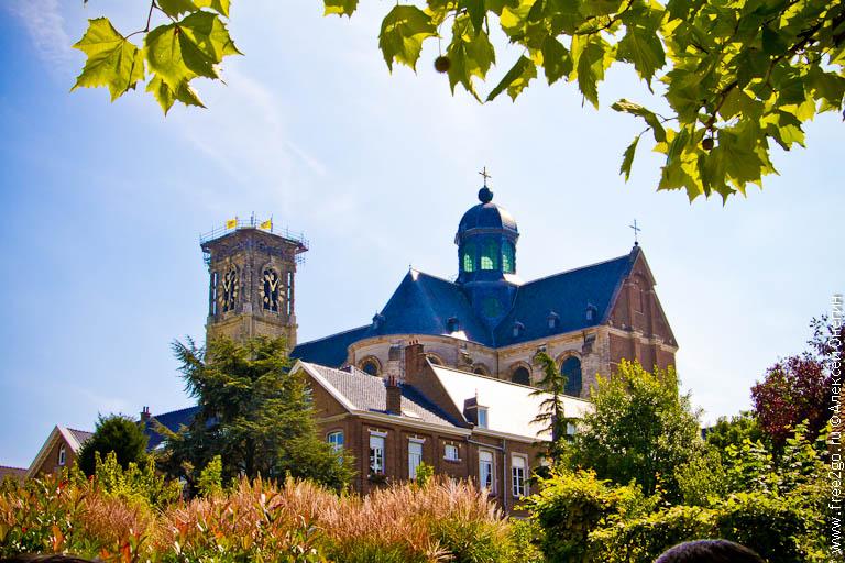 Аббатство Grimbergen - Гримберген, Бельгия. фото