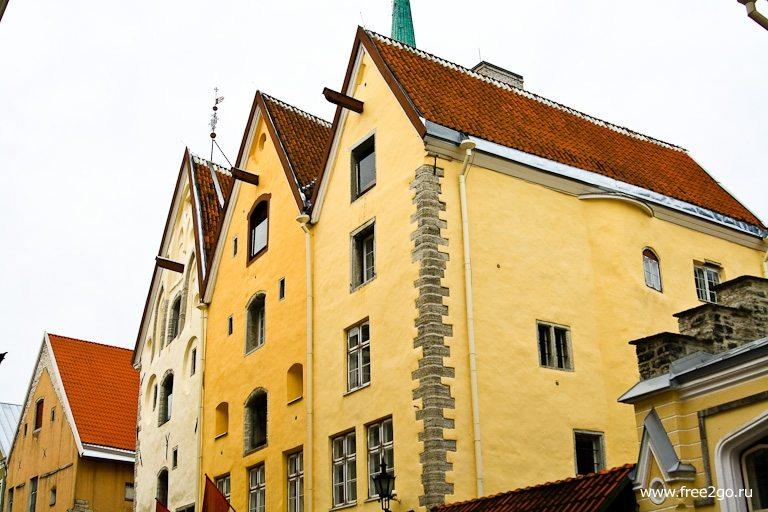 Три Сестры - Таллин, Эстония. фото