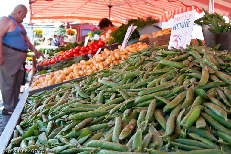 Открытый рынок - Хельсинки, Финляндия фото