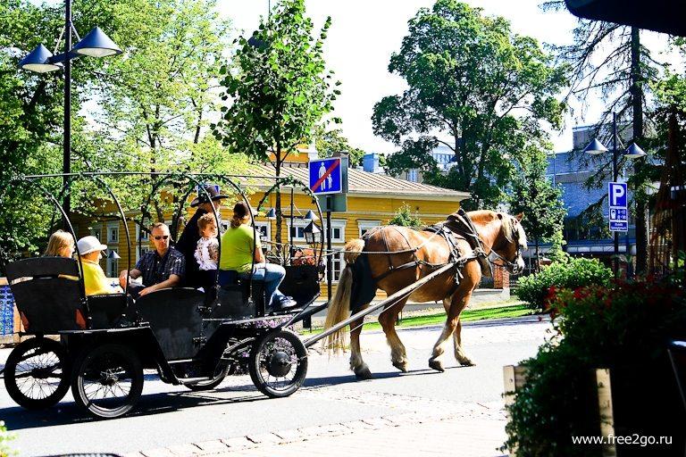 Прогулка - Лаппеенранта, Финляндия. фото
