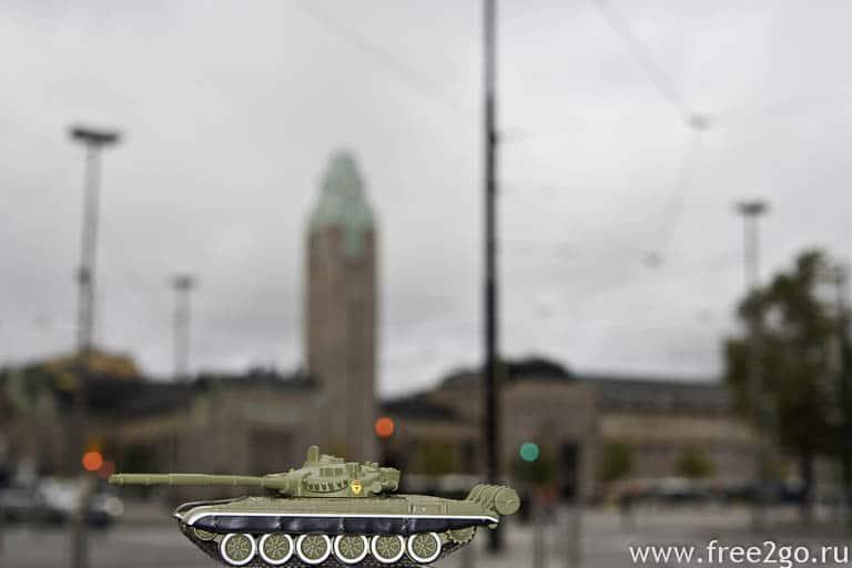 Наши танки в Хельсинки - Финляндия. фото
