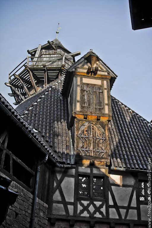 Эльзасская винная дорога - Эльзас, Франция. фото