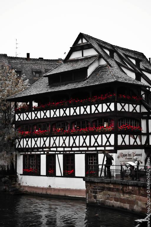 Страсбург – Эльзас, Франция. фото