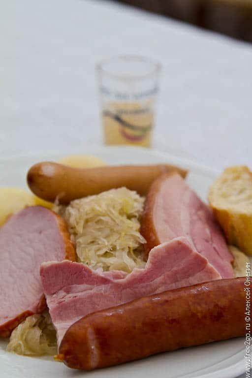 Краткий экскурс в кухню Эльзаса фото