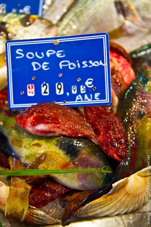 Рынок Marche Provencal - Антиб, Франция - фото