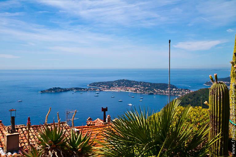 Невероятные красоты Лазурного берега - Эз, Франция. фото