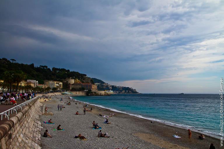 Фешенебельный курорт - Ницца, Франция фото
