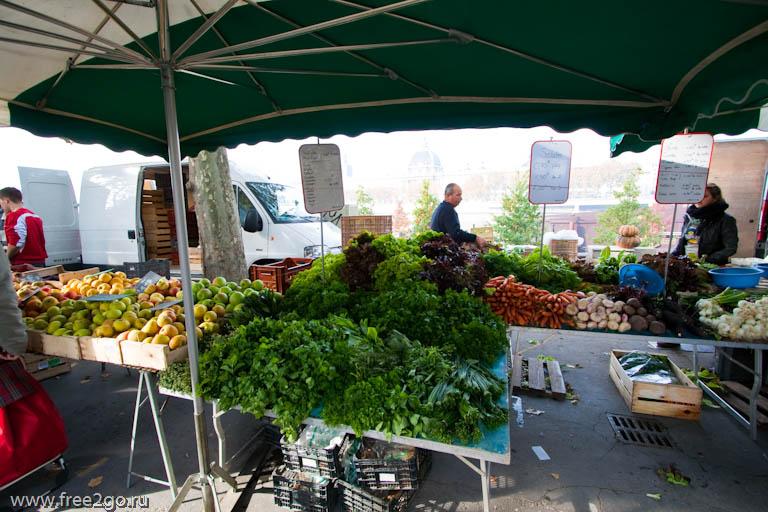 Лионский рынок, или несколько слов о многообразии продуктов, лионской кухне и жизни вообще - фото