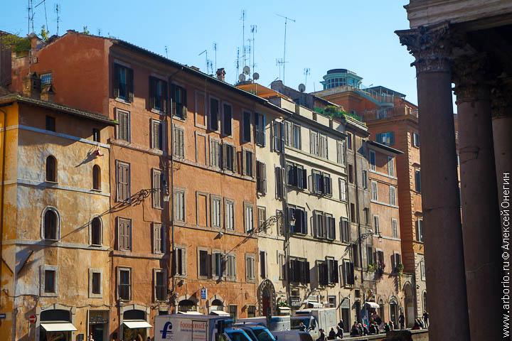 Красивый город - Рим, Италия фото