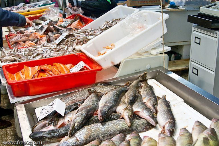 Центральный рынок Риги - фото