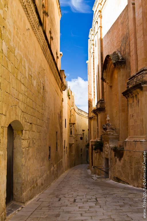 Мдина, древняя столица Мальты