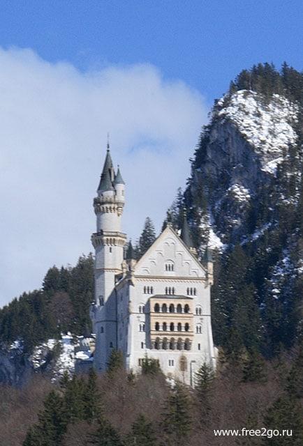 Замок Нойшванштайн, Баварские Альпы, Германия. фото