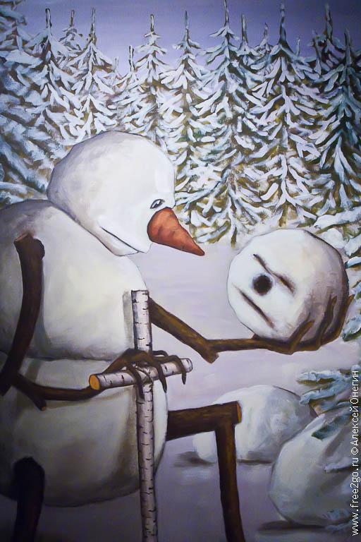 Выставка картин Н. Копейкина - Санкт-Петербург фото