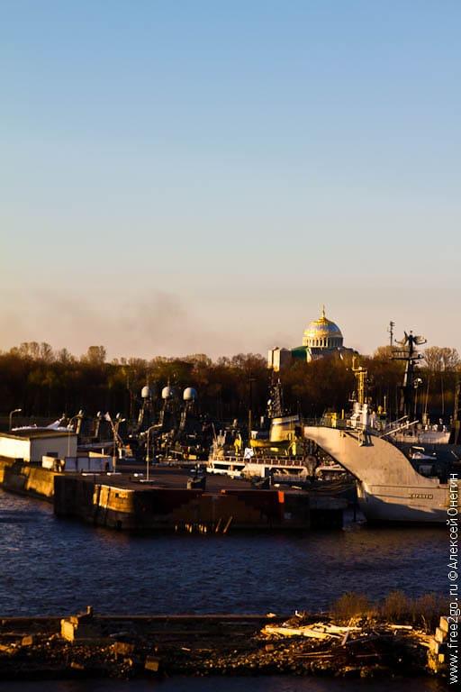 Проходим Кронштадт - Санкт-Петербург. фото