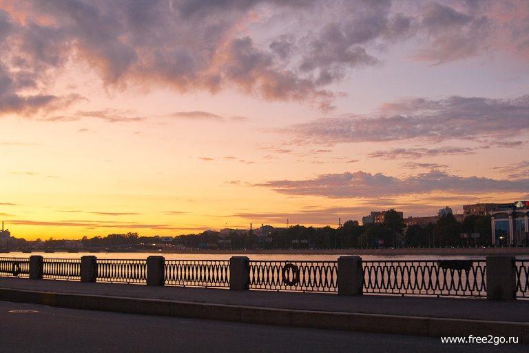 Закат - Петроградка, Санкт-Петербург. фото