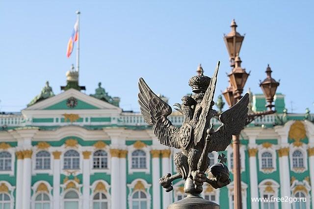 Двуглавый орел - Санкт-Петербург. фото