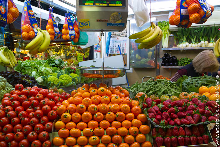 Рынок или супермаркет? - фото