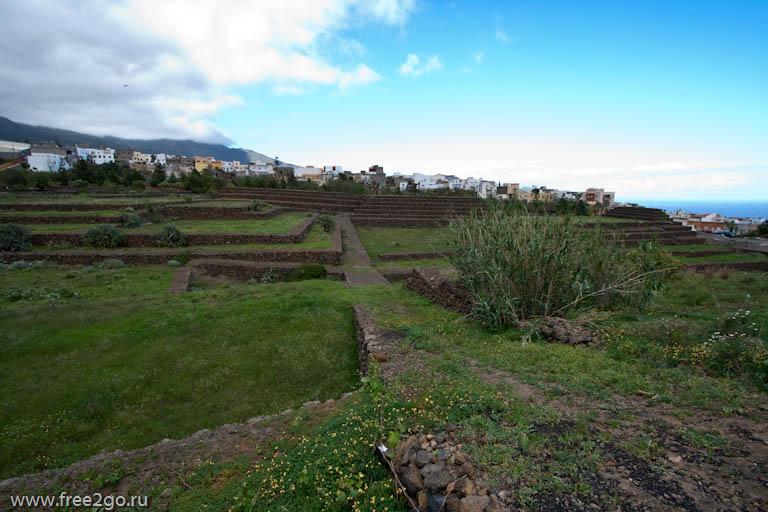 Пирамиды Гуимар - Тенерифе, Канарские острова, Испания. фото