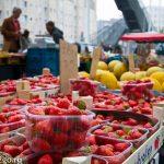 Субботний рынок — Антверпен, Бельгия.