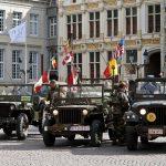 Парад войск союзников — Брюгге, Бельгия.