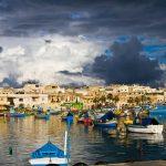 Рыбацкая деревня Марсашлокк — Мальта