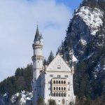 Замок Нойшванштайн, Баварские Альпы, Германия.
