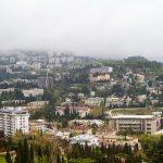Набережная и крыши — Ялта, Россия