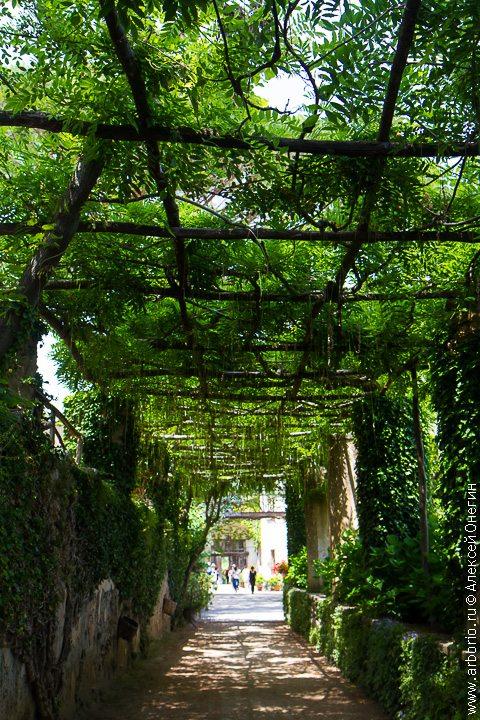 Сад над облаками - Равелло, Италия фото