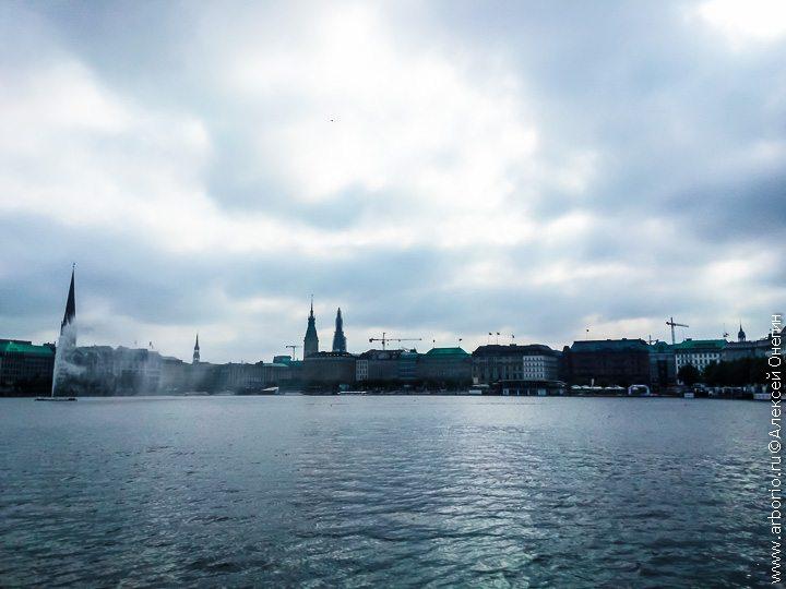 Вода, еда и еще несколько наблюдений из Гамбурга фото