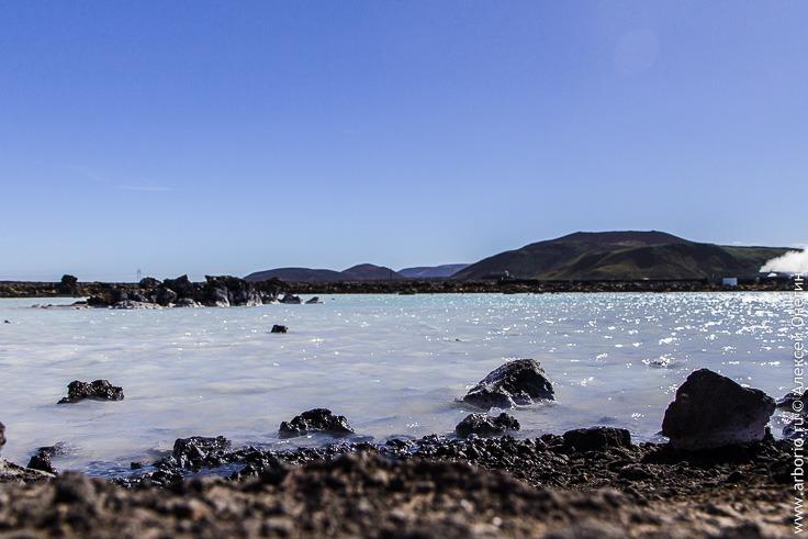Голубая лагуна Исландии фото