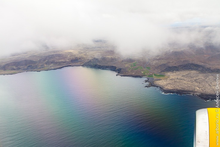 Исландия с высоты птичьего полета фото