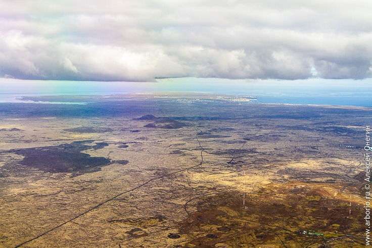 Исландия с высоты птичьего полета