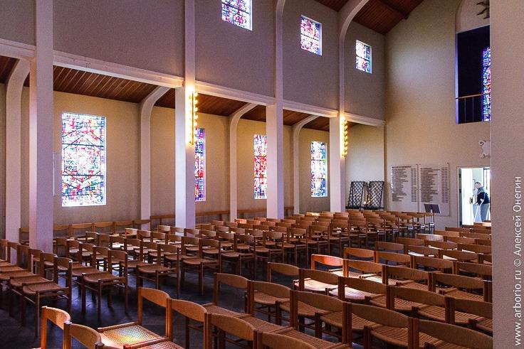 Внутри собора Скаульхольта