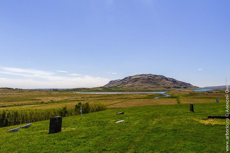 Кладбище в Скаульхольте